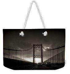 Vincent Thomas Bridge Weekender Tote Bag