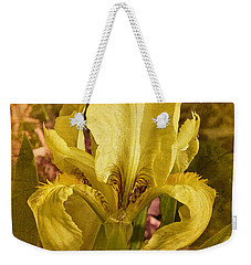 Vintage Dwarf Iris No. 2 Weekender Tote Bag by Richard Cummings