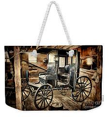Vintage Horse Drawn Carriage  Weekender Tote Bag