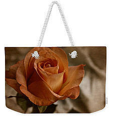 Vintage Orange Rose Weekender Tote Bag by Richard Cummings