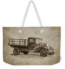 Vintage Truck Weekender Tote Bag