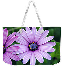 The African Daisy 3 Weekender Tote Bag by Isam Awad