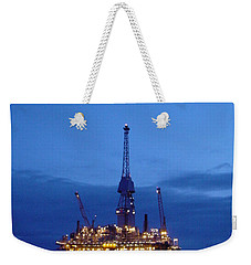 Visund In The Twilight Weekender Tote Bag