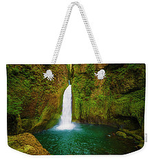 Wahclella Falls Columbia River Gorge Weekender Tote Bag