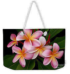 Weekender Tote Bag featuring the photograph Wailua Sweet Love by Sharon Mau