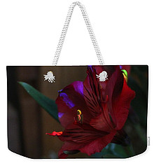 Weekender Tote Bag featuring the photograph Waiting For You by Marie Neder