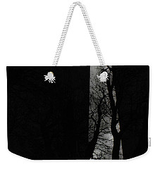 Weekender Tote Bag featuring the photograph Washington Monument by Angela DeFrias