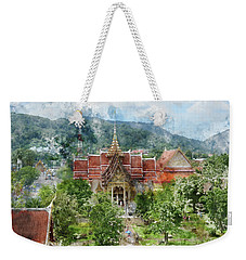 Wat Chalong In Phuket Thailand Weekender Tote Bag