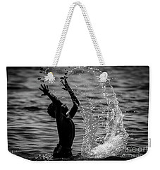 Water And Stones 3 Weekender Tote Bag