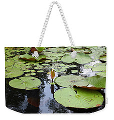 Water Lilies Weekender Tote Bag by Ellen Tully