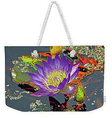 Water Lilly  Weekender Tote Bag
