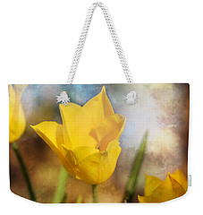 Water Lily Tulip Flower Weekender Tote Bag