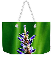 Weekender Tote Bag featuring the photograph Water Plant 3 by Buddy Scott