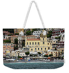 Water Taxi From Amalfi To Positano Weekender Tote Bag
