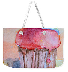 Watercolor Illustration Of Cake  Weekender Tote Bag