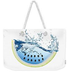Watermelon Splash Weekender Tote Bag