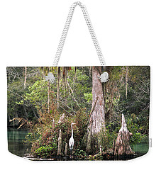 Weeki Wachee River Weekender Tote Bag by Steven Sparks