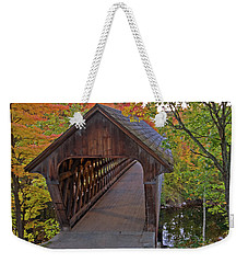 Welcoming Autumn Weekender Tote Bag