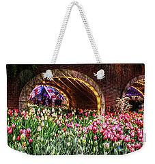 Welcoming Tulips Weekender Tote Bag