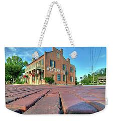Western House Weekender Tote Bag by Steve Stuller