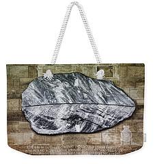 Westminster Military Memorial Weekender Tote Bag by Stephen Stookey