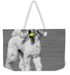 Pedicured Pup Hits The Beach Weekender Tote Bag