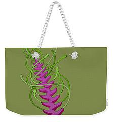 whEAT alien FUCsia I Weekender Tote Bag