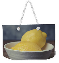 When Life Gives You Lemons Weekender Tote Bag by Edward Fielding