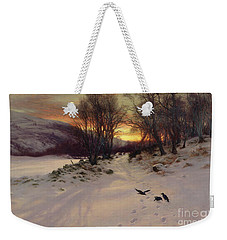 When The West With Evening Glows Weekender Tote Bag by Joseph Farquharson