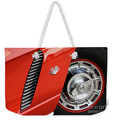 Weekender Tote Bag featuring the photograph Where Were You In '62 by Dennis Hedberg