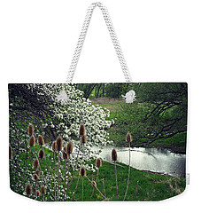 Weekender Tote Bag featuring the photograph Whimsical Way  by Cyryn Fyrcyd