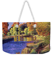Whispering River Weekender Tote Bag