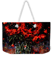 Whispers Of Love  Weekender Tote Bag by Cristina Mihailescu