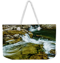 Whitaker Falls In Summer Weekender Tote Bag