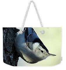 White Breasted Nuthatch Wading River New York Weekender Tote Bag