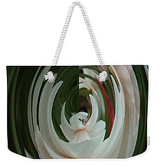 White Form Weekender Tote Bag
