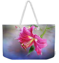 White Hall Lily Weekender Tote Bag
