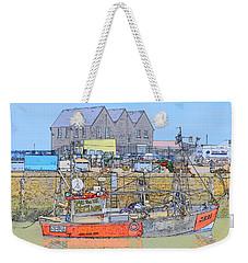 Whitstable Harbour Weekender Tote Bag