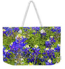 Wild Bluebonnets Blooming Weekender Tote Bag
