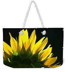 Wild Sunflower Weekender Tote Bag by Shari Jardina
