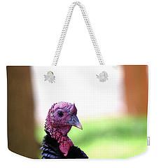 Wild Turkey Up Close Weekender Tote Bag