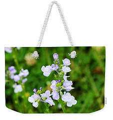 Weekender Tote Bag featuring the photograph Wildflower II by Beth Vincent