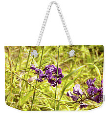 Weekender Tote Bag featuring the photograph Wildflowers IIi by Cassandra Buckley