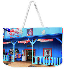 Willie Nelson And Friends Museum And Souvenir Store In Nashville, Tn, Usa Weekender Tote Bag