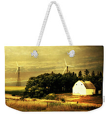 Wind Turbines Weekender Tote Bag by Julie Hamilton