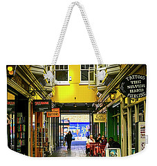 Windham Shopping Arcade Cardiff Weekender Tote Bag