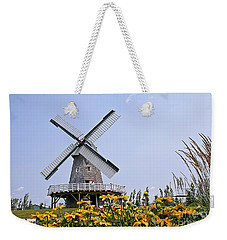Windmill Weekender Tote Bag by Teresa Zieba
