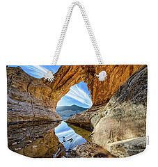 Window In The Sky Weekender Tote Bag