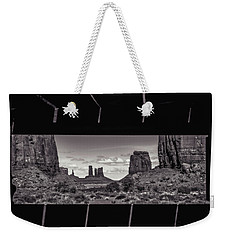 Window Into Monument Valley Weekender Tote Bag