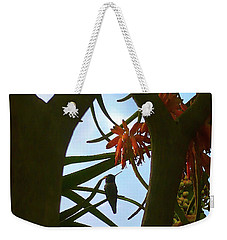 Window Of Harmony Weekender Tote Bag